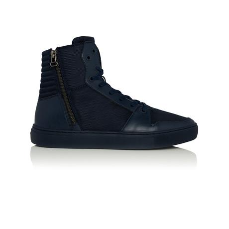 Alteri High-Top Sneaker // Navy