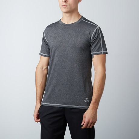 Bolt Fitness Tech Tee // Charcoal