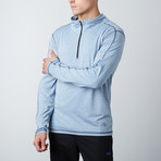 Parry Fitness Tech Pullover // Light Blue (S)