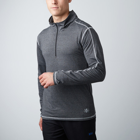 Parry Fitness Tech Pullover // Charcoal (XS)