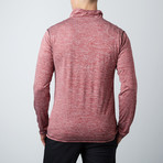 Parry Fitness Tech Pullover // Red (S)