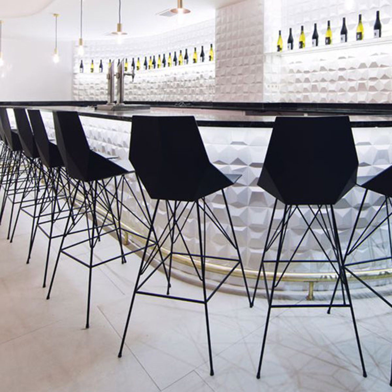 Magnificent Faz Bar Stool Set Of 4 Red Vondom Touch Of Modern Gamerscity Chair Design For Home Gamerscityorg