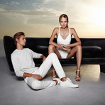 Eugeni Quitllet // BUM BUM Sofa (Steel Lacquer)