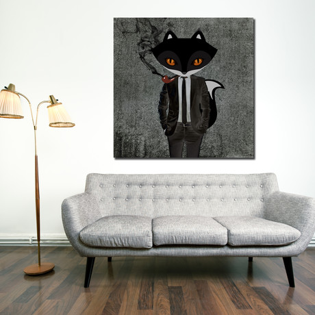 """Fantastic Fox (12""""W x 12""""H x 1.5""""D)"""
