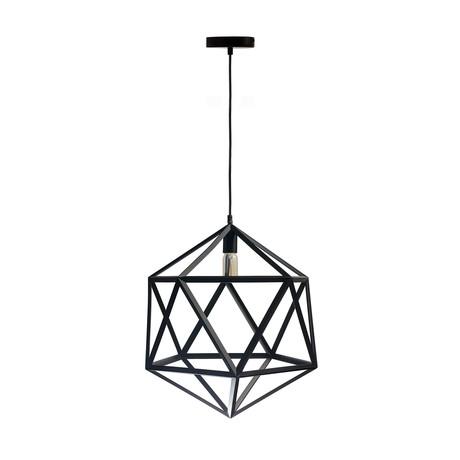 Geometric Shapes // Large Pendant Lamp