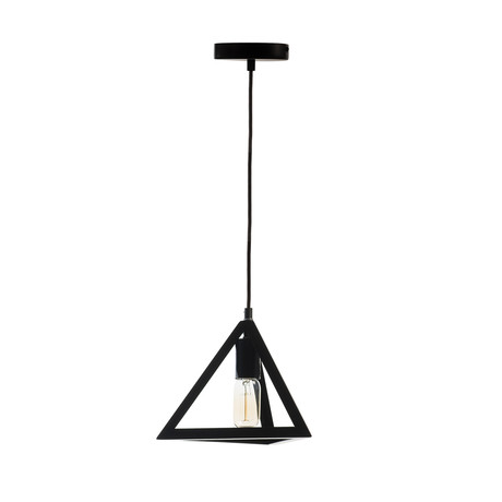 Geometric Shapes // Pyramid Pendant Lamp