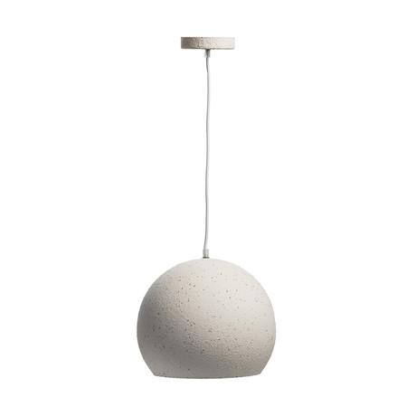 Ceramic Finish // Bowl Pendant Lamp