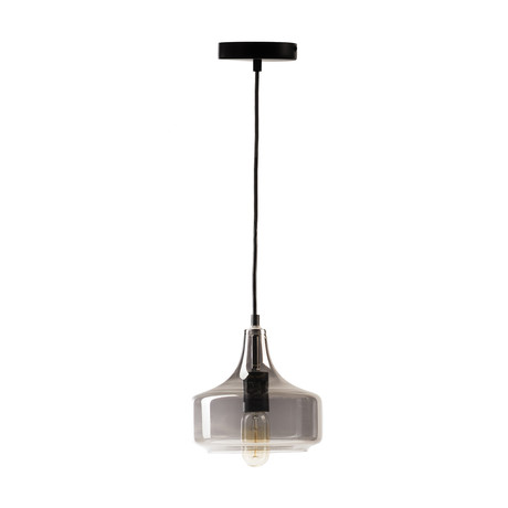 Vintage Inspired Pendant Lamp // Silver