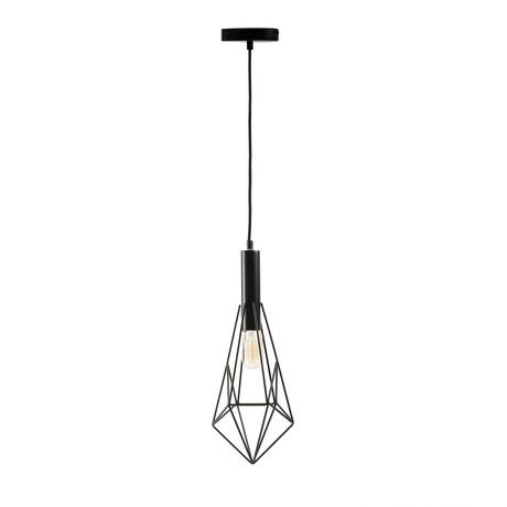 Single Geometric Pendant Lamp (Small)