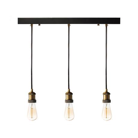 Triple Vintage Pendant Lamp