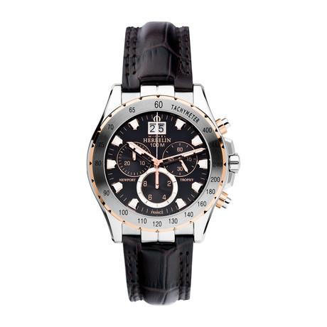 Michel Herbelin Trophy Chronograph Quartz // 36675/TR14MA