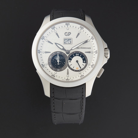 Girard Perregaux Traveller Dual Time Automatic // 49655 // Pre-Owned