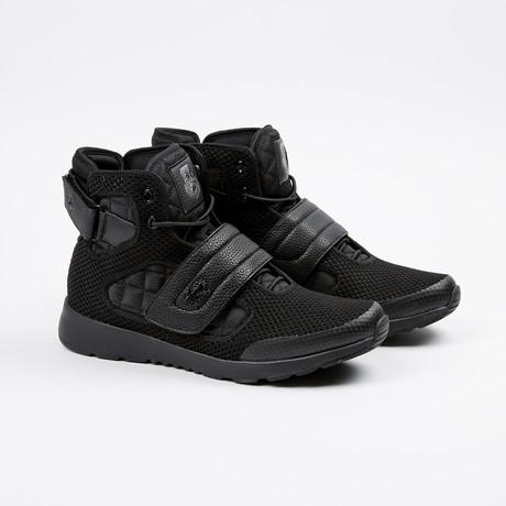 Atlas III High-Top Sneaker // Black