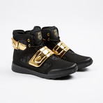 Atlas III High-Top Sneaker // Black + Gold (US: 7)