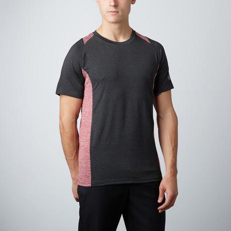 Cross Fitness Tech T-Shirt //  Black + Red
