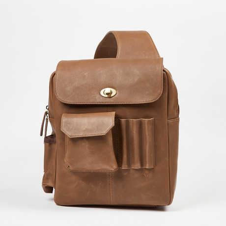 Man-PACK Classic 2.0 // Leather Messenger Bag