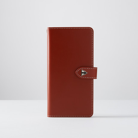 TePee Basic Case // Red Brown