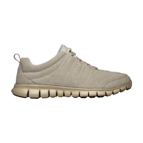 McLean Canvas Sneaker // X-Wide // Sand