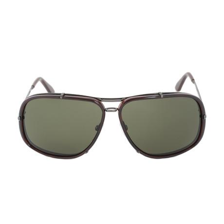 4c6cc48f4 Tom Ford // Andres Unisex Oversized Aviator Sunglasses // FT0110 08N 62