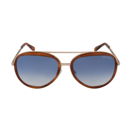 Tom Ford // Andy Pilot Sunglasses // FT0468 56W 58