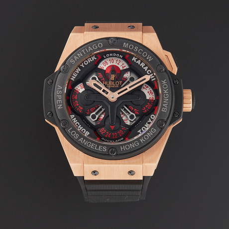 Hublot Big Bang King Power Unico GMT Automatic // 771.OM.1170.RX // Store Display
