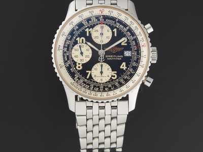 Touch Of Modern - Breitling, Hublot & IWC Up to 60% Off Bold Swiss Watches Breitling Navitimer Automatic // A13022 // Pre-Owned Photo