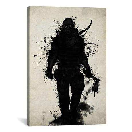 """Apocalypse Hunter (26""""W x 18""""H x 0.75""""D)"""