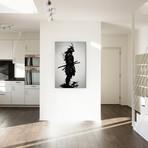 """Armored Samurai // Nicklas Gustafsson (18""""W x 26""""H x 0.75""""D)"""