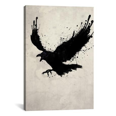 """Raven (26""""W x 18""""H x 0.75""""D)"""