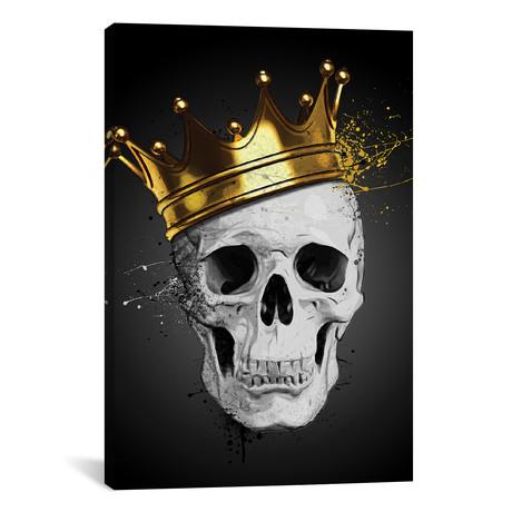 "Royal Skull (40""W x 26""H x 0.75""D)"
