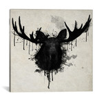 "Moose Vertical (18""W x 18""H x 0.75""D)"