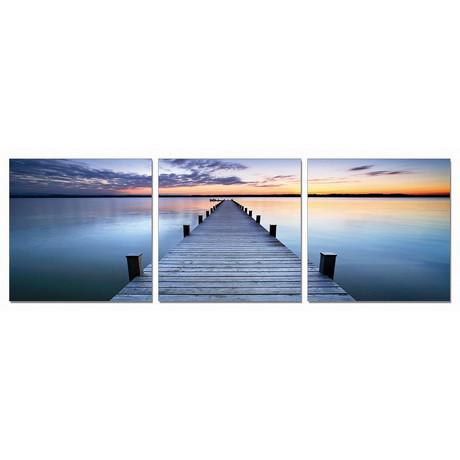 Dock at Dusk (72W x 24H x 1D)