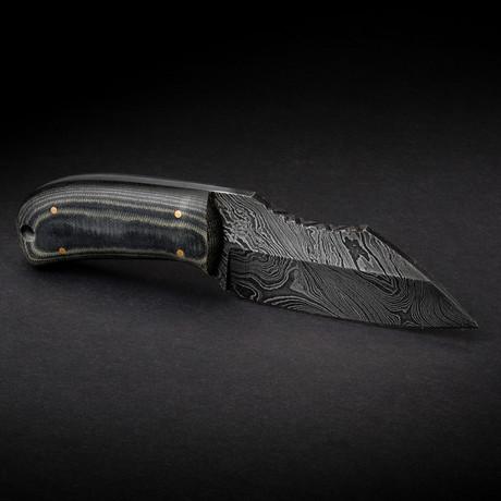 Honey Badger Damascus Knife