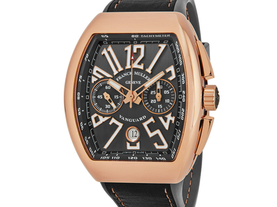 Touch Of Modern - Franck Muller Up to 40% Off Top Shelf Luxury Franck Muller Vanguard Chronograph Automatic // 45CCGLDGRYGLD Photo