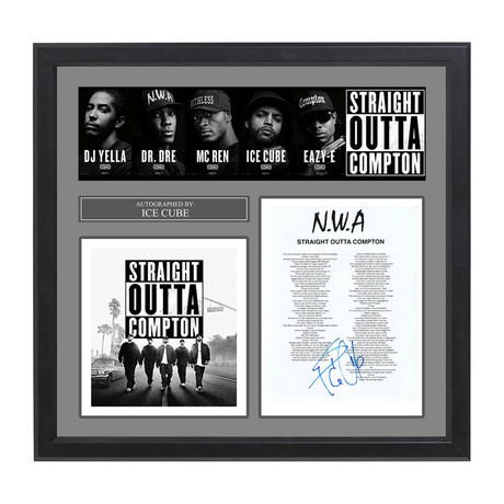"NWA // Ice Cube // ""Straight Outta Compton"""