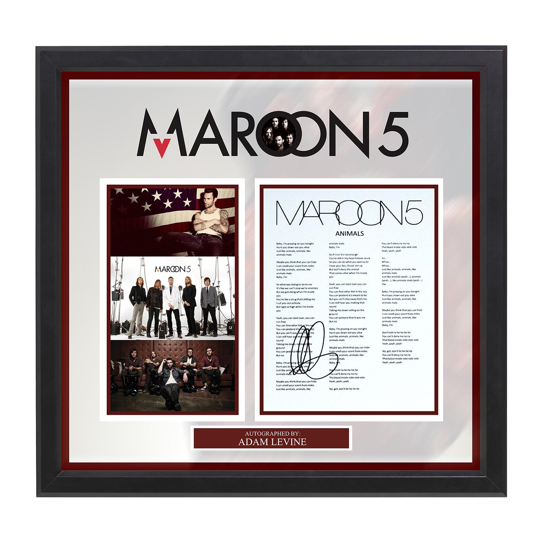 Lyrics to animals adam levine - Maroon 5 Adam Levine Animals