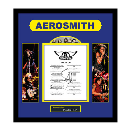 "Aerosmith // ""Dream On"""