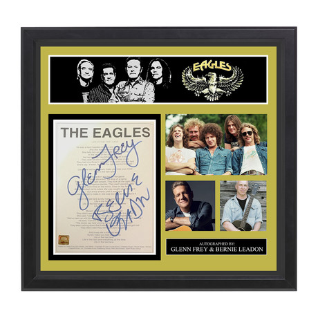 "The Eagles // ""Life In The Fast Lane"""