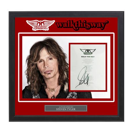 "Aerosmith // Steven Tyler // ""Walk This Way"""
