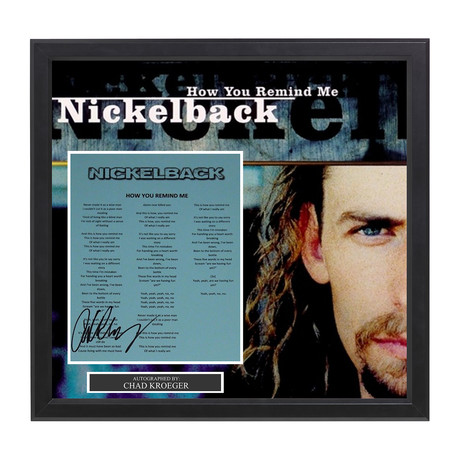 "Nickelback // Chad Kroeger // ""How You Remind Me"""