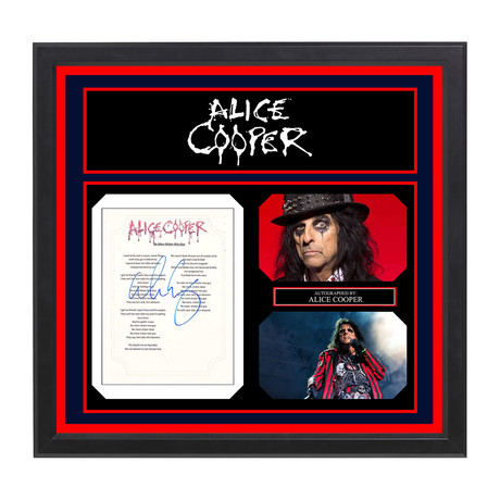 "Alice Cooper // ""No More Mister Nice Guy"""