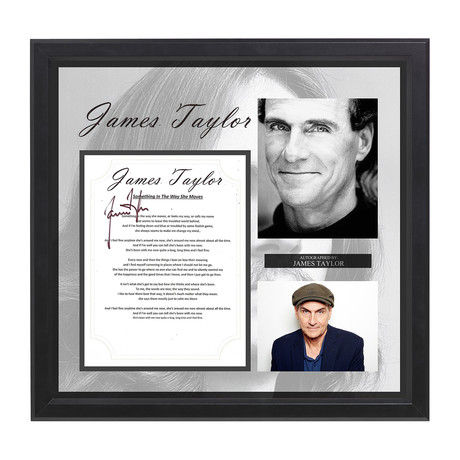James Taylor // Something In The Way She Moves