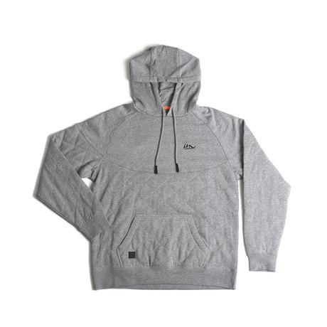 Hatch Hooded Sweatshirt // Gunmetal (S)