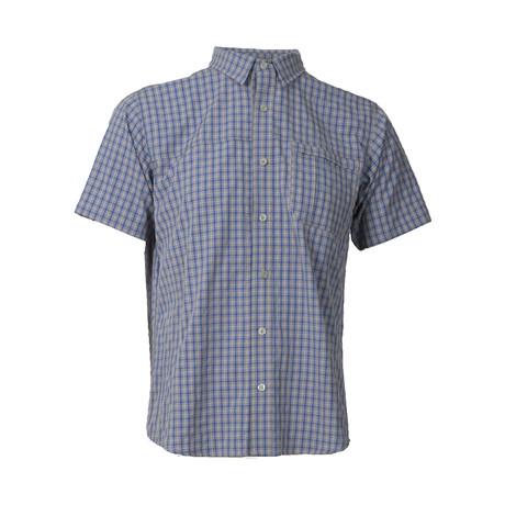 Vaxholm Short-Sleeve Shirt // Blue