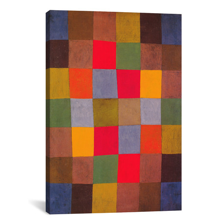 "New Harmony // Paul Klee // 1936 (26""W x 18""H x 0.75""D)"