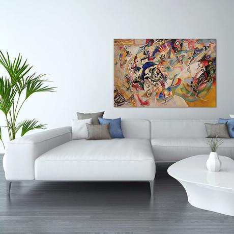 "Composition VII // Wassily Kandinsky // 1913 (18""W x 26""H x 0.75""D)"