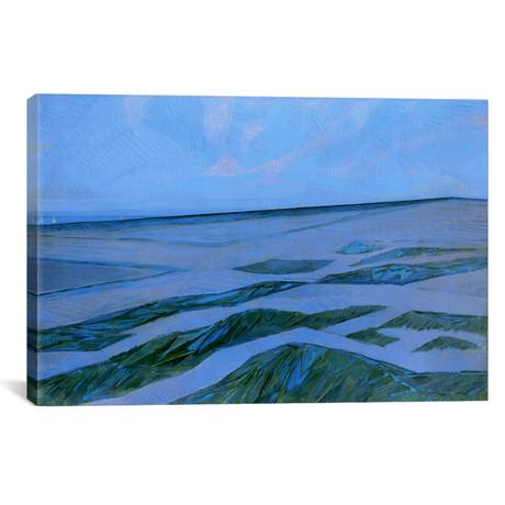 """Dune Landscape, 1912 // Piet Mondrian (26""""W x 18""""H x 0.75""""D)"""