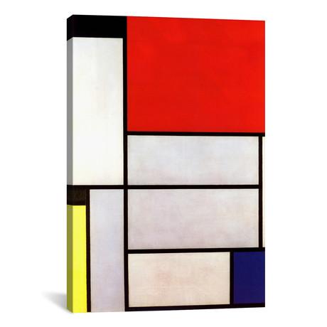 """Tableau l, 1921 // Piet Mondrian (26""""W x 40""""H x 1.5""""D)"""
