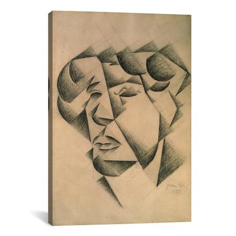 """Self Portrait // Juan Gris // 1912 (26""""W x 18""""H x 0.75""""D)"""