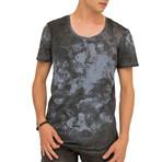 Dawn T-Shirt // Dark Blue (Large)